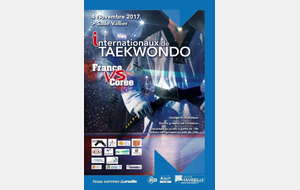 INTERNATIONAUX DE TAEKWONDO FRANCE vs COREE